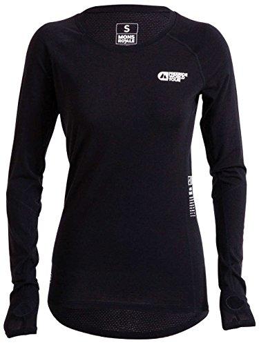 Mons Royale sous-vêtement de Ski en Laine mérinos Bella Coola Fwt T-Shirt Fonctionnel pour LS