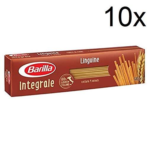 10x Pasta Barilla Linguine integrali Vollkorn italienisch Nudeln 500g pack