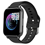 feifuns Smart Watch with Blood Pressure Blood Oxygen Fitness Tracker with Heart Rate Monitor 1.54' Large Full Touch Screen Pedometer Watch Step Calorie Sleep Tracker for Android & iOS for Men Women