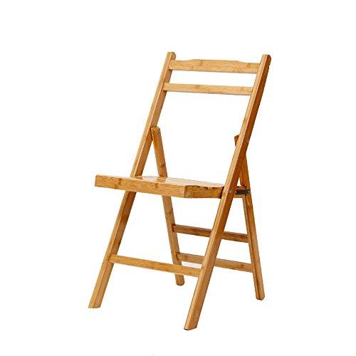 Xiaolin- Klappstuhl Portable Bambus Stuhl Hocker Angeln Stuhl Klappstuhl Zurück Freizeit Stühle Bürostühle (Farbe : B)