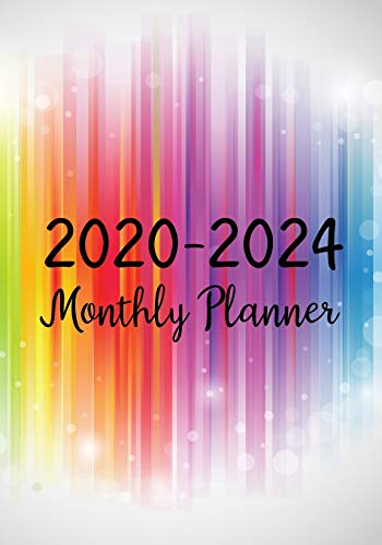 2020-2024 Monthly Planner: Five Years Monthly Calendar Planner (60 Months) For To Do List Journal Notebook | Academic Schedule Agenda Logbook Or ... & Monthly Calendar Planners Holidays, Band 9)