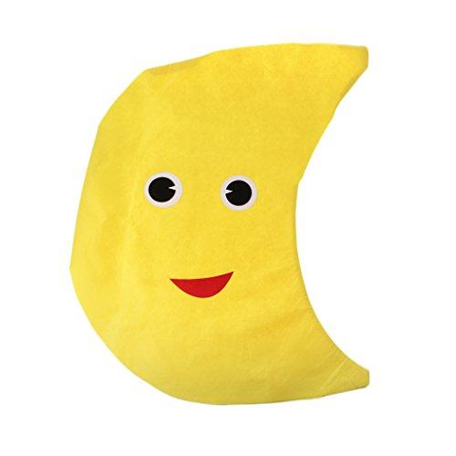 Traje Disfraz Amarillo Color Historieta Luna Cómodo Sin Distorsión ...