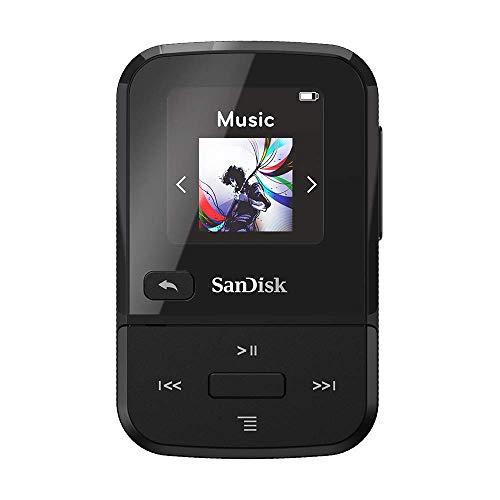 SanDisk Clip Sport Go MP3-Player, 16 GB, Schwarz