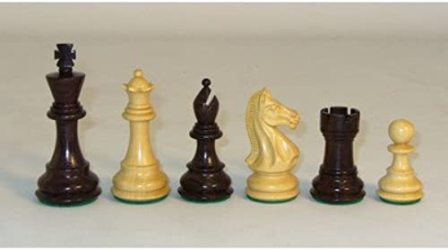Checkmate Wooden Chess Pieces, Rosawood Pro by Checkmate