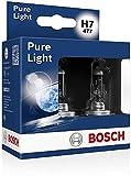 Bosch Pure Light Set Lampadina H7 12V, Doppio Box 2 lampadine...