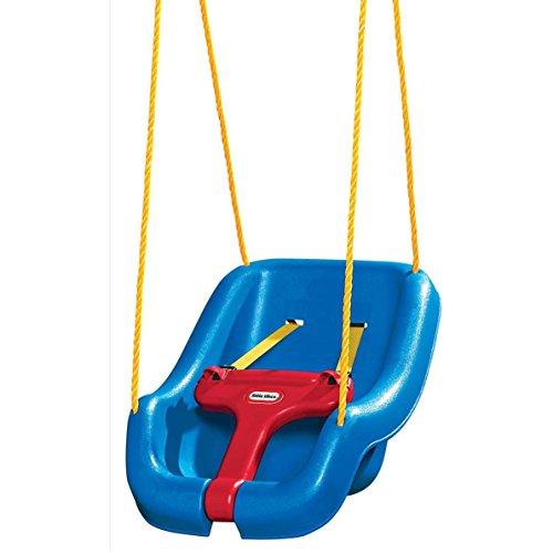 Little Tikes 2 -in- 1 Snug 'n Secure Grow With Me Swing - Blue