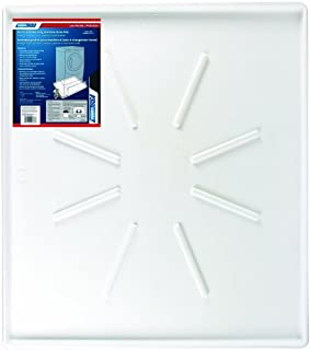Camco Front-Load Washing Machine Drain Pan, Protects Your Floor from Washing Machine Leaks, OD 30.5