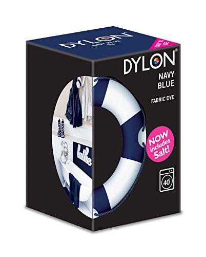 Dylon - Marineblau Stoff Maschinen Farbstoff 350g Inklusive Salz
