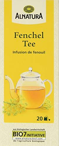 Alnatura Bio Fenchel Tee, 20 Beutel, 50g