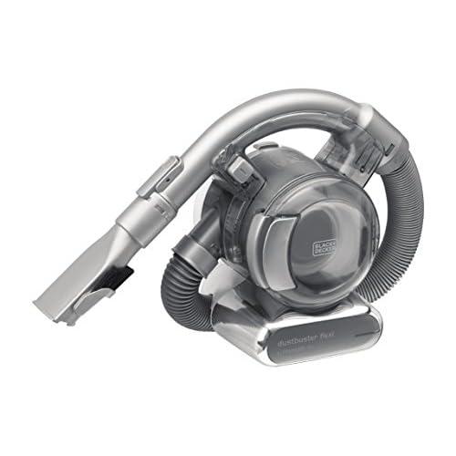 BLACK+DECKER PD1820L-QW Aspiratore Ricaricabile aspirabriciole FLEXI 18 V Litio - 27 Wh, capacità contenitore 560 ml, con accessori