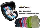 Sweet Baby ** SOFTY MAXI ROJO ** Cojín reductor para silla de bebé / Protector...
