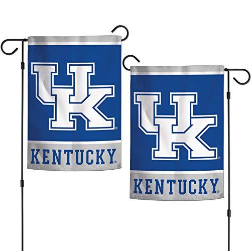 NCAA University of Kentucky Wildcats 12.5' x 18' Inch 2-Sided Garden Flag...