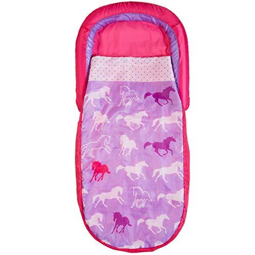 HelloHome Pferde-Mein erstes ReadyBed – Kinder-Schlafsack und Luftbett in einem, Polyester, One Size