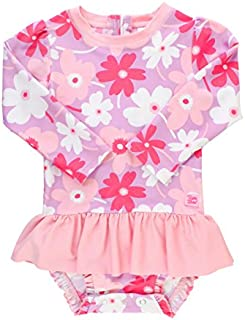 RuffleButts Baby/Toddler Girls UPF 50+ Sun Protection...