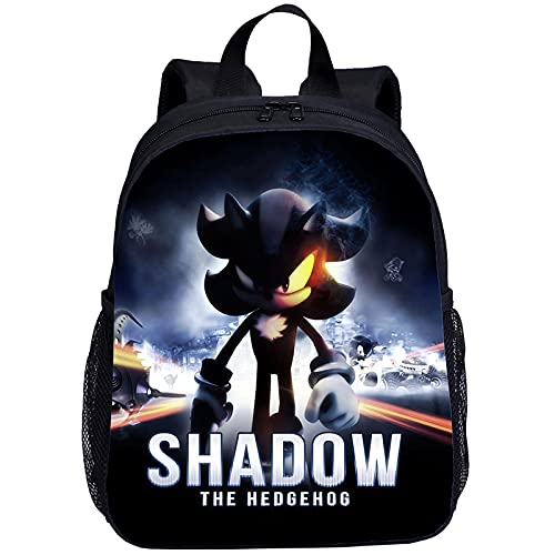 regalo para Mini mochila para niños, niñas, dibujos animados, Anime Sonic, impresión 3D, mochila para jardín de infantes, Mochila Escolar