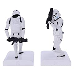 Nemesis Now Officially Licensed The Original Stormtrooper Bookend Figurines, White, 18.5cm #3