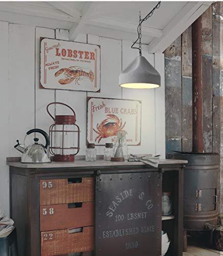 fghrgh Led Nachtlicht,Nachttischlampe Retro Industriewind Loft Zement Kronleuchter Restaurant Stehtisch Designer Kronleuchter Wohnzimmer Kronleuchter A1093