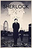 Sherlock Poster: London [Monochrom]