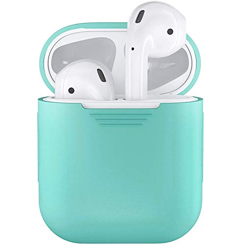 TYewa98556 2019 Newest Teconology Protective Cover, Shockproof Soft Silicone Protector Case Cover Shield for Apple AirPods Earphones - Green
