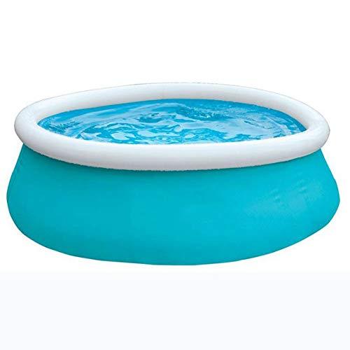 MROSW 72 X 20 Zoll Kinderscheibenförmige aufblasbarer Pool, Übergröße verdickte Familienpool
