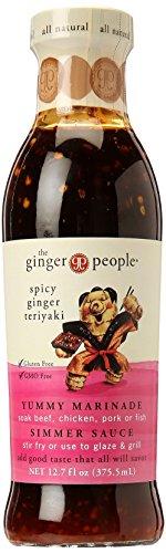 Ginger People Spicy Ginger Teriyaki Sauce, 12.7 oz