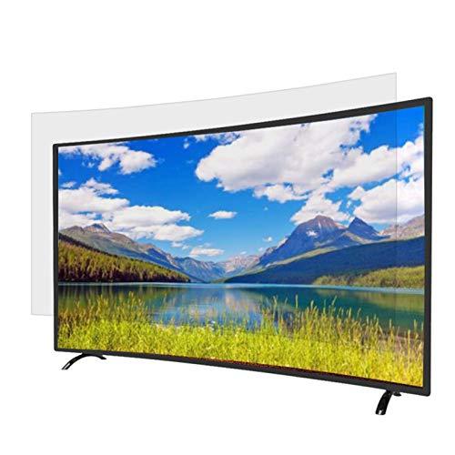GHHZZQ Protector de Pantalla de TV para LCD, LED, OLED y QLED 4K HDTV Protectores de Pantalla contra la luz Azul Antirreflejo Alivia el Filtro de Pantalla Alivia la Fatiga Ocular