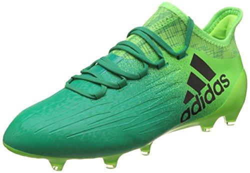 adidas X 16.1FG Herren Fußballschuh, grün–(Versol/Negbas/Vol) 46
