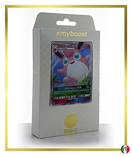 Wigglytuff-GX 42/68 - #myboost X Sole E Luna 11.5 Destino Sfuggente - Box di 10 Carte Pokémon Italiane