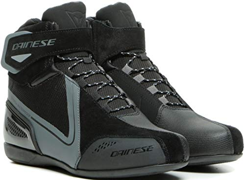 Dainese Energyca D-WP - Zapatos de moto impermeables para mujer, color negro/gris, talla 36