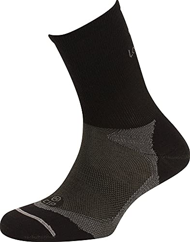 Lorpen Socken aus Polypropylen, Schwarz, Größe S