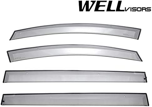 High material WELLvisors Mazda 5 2006-2015 Side Visors Clip-on on Clip Window Selling and selling