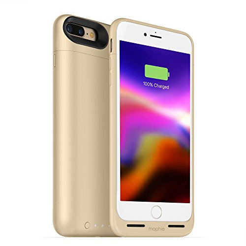 mophie juice pack wireless - Charge Force Wireless Power - Wireless Charging Protective Battery Pack Case for iPhone 8 - Gold