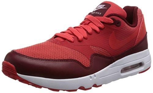 Nike Air MAX 1 Ultra 2.0 Essential, Entrenadores para Hombre, Rojo (Track Red/Track Red/Team Red/White), 45 EU