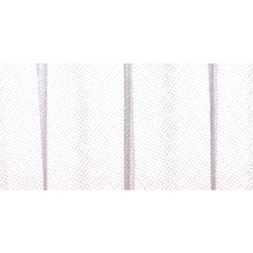 White Single Fold Bias Tape 1/2