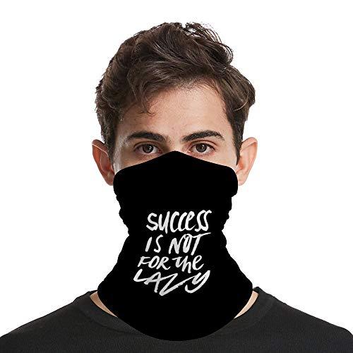 SUCCESS is niet voor de luie sjaal hals gitaar bandana microvezel zon beschermende hals buis ring sjaals mannen hoofddeksels polsband voor vissen motorfiets fietsen