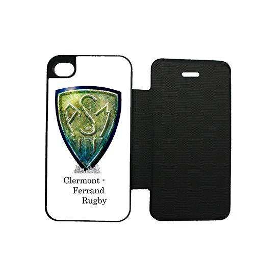 Aux prix canons––Funda Folio Rugby ASM Clermont Ferrand 2iPhone 6Plus–6S Plus