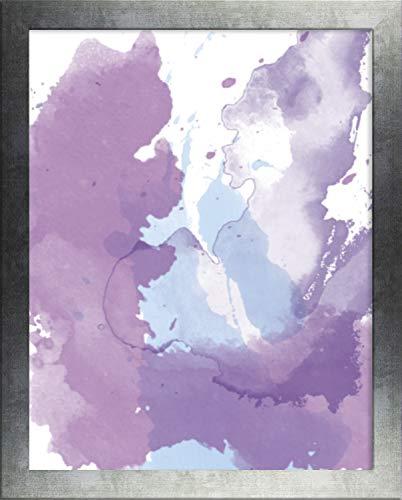 Home decoratie Misano rand Photo Frame 21,7x31,1 Inch (55 x 79 cm) met Antireflectieve Kunststof Glas Perspex 31,1x21,7 Inch Fotolijst Kleur Afgeveegd Strijkijzer
