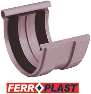 Ferroplast - Enlace Canalon Pvc Gris 33 207017