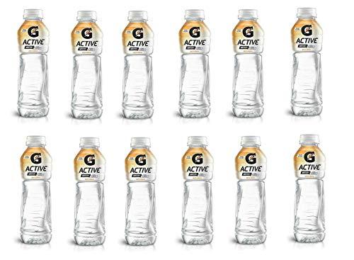 Gatorade G-Active Arancia Acqua - Agua de hidratación (12 unidades, 50 cl), color naranja