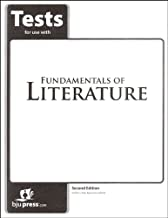 Fundamentals of Literature Grade 9 Tests 2nd Edition