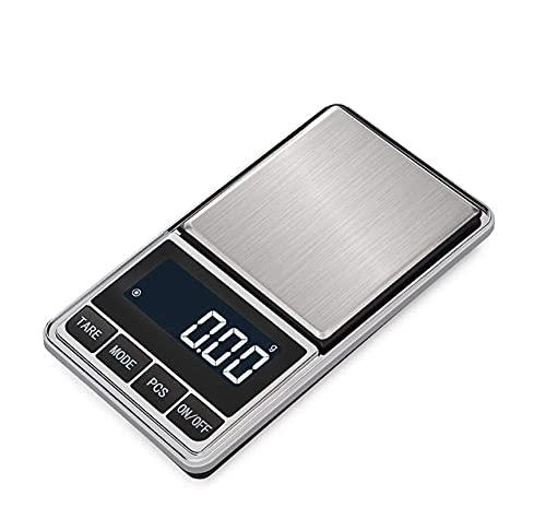 M3 Decorium Escalas Precision Balance electrónico gram Escalas Exactitud para joyería de Plata de Ley de Oro LCD (Size : 100g X 0.01g)