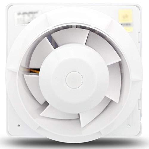 JEONSWOD Ventilación de la salida del ventilador, ventilador de escape fuerte extractora de montaje en pared de escape Ventilador de techo ventiladores incorporados de ventilación del hogar si