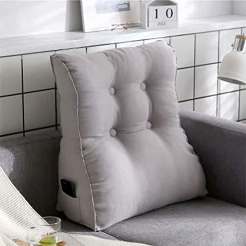 zyl Cuscino di Supporto Lombare Rimovibile con Lavaggio/Cuscino Posteriore Adatto per divani Letti sedili da Ufficio ECC. Design ergonomico per alleviare Il Divano del Divano Lettura dell