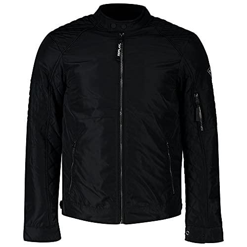 Replay Herren M8141P Bikerjacke, 098 Black, XXL