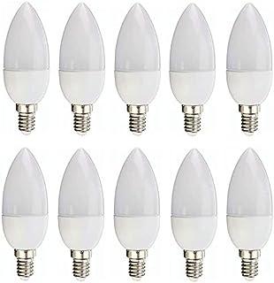 Sister-A Candle LED Bulb E14 Base 20W AC220V white Shell 360 Degree Vintage Light C35 Edison LED Filament Lamp Saving Bomb...