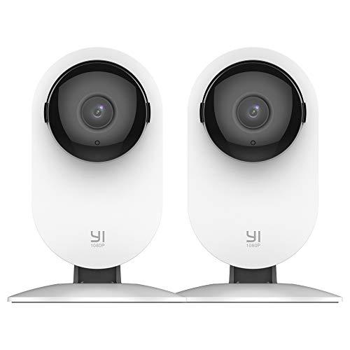 Yi 1080p wireless home camera 2-piece
