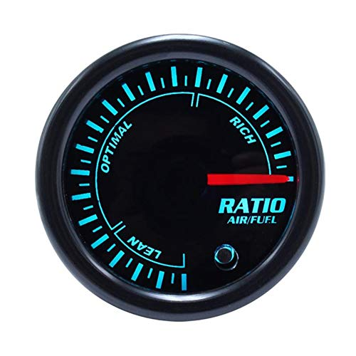 XIOFYA 7 Color 2'52mm TACOMETRO RPM Meter LED Auto Tacómetro de taquómetro Medidor de Calibre Vacuum Car Meter Pointer Universal para Motor de Barco (Color : Air Fuel Ratio)