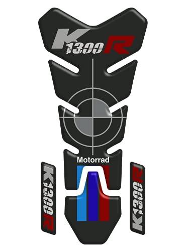 Tankpad - Protector adhesivo resinado con efecto 3D, compatible con moto BMW Motorrad K1300 R V1