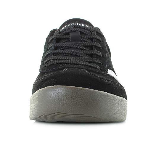 Skechers 52328-blk_42, Zapatillas Hombre, Negro, EU