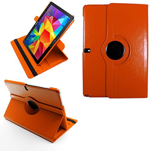 COOVY® 2.0 Cover für Samsung Galaxy Note PRO 12.2 SM-P900 SM-P901 SM-P905 Rotation 360° Smart Hülle Tasche Etui Hülle Schutz Ständer | orange